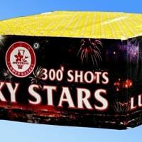 Kembang api lucky stars 300 shots