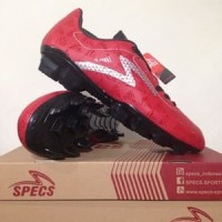BESTSELLER!!! Sepatu Bola Specs Quark FG Chestnut Red Original