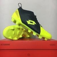 BESTSELLER!!! Sepatu Bola Lotto Energia FG Safety Yellow Original