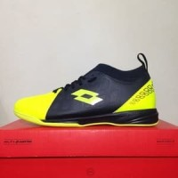 TERLARIS!! Sepatu Futsal Lotto Energia IN Safety Yellow Original
