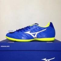 TERLARIS!! Sepatu Futsal Mizuno Rebula V3 IN Strong Blue Original