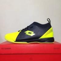 CATYCATZ!!!! Sepatu Futsal Lotto Energia IN Safety Yellow Original