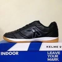 CATYCATZ!!!! Sepatu Futsal Kelme K-Strong Black Negro Original