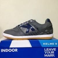 CATYCATZ!!!! Sepatu Futsal Kelme Intense Dark Grey Original