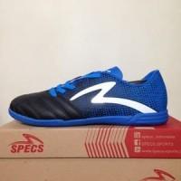 CATYCATZ | Sepatu Futsal Specs Equinox IN Black Tulip Blue Original