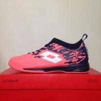 CATYCATZ!!!! Sepatu Futsal Lotto Veloce IN Bright Peach Original