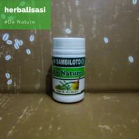 Obat Kencing Manis Basah Kering Herbal SAMBILOTO De Nature