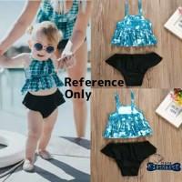 baby swimsuit /baju renang perempuan / baju bayi perempuan / newborn