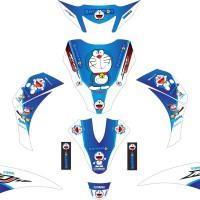 Stiker Striping Motor Yamaha Mio J Doraemon Grade A