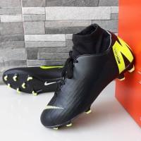 sepatu bola nike mercurial m high dewasa hitam kuning