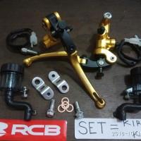 master rem Racing Boy RCB Forged SET KIRI KANAN S1 NMAX PCX XMAX 14mm