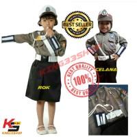 Baju Profesi Anak Polisi Wanita / Polwan