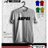 Kaos T-shirt Akpol Police Terbaru simple