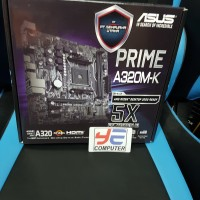Asus PRIME A320M-K (AM4, AMD Promontory A320, DDR4, USB 3.1, SATA3)