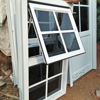 Jendela aluminium ornamen uk 120x60
