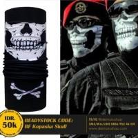 Baff Masker Bandana Multifungsi Korps Tengkorak BF Kopaska Skull