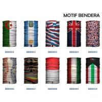 Masker Baff Bandana Bendera Merah Putih Nasional Indonesia Multifung