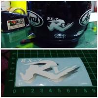 Cutting Sticker RX7 RR5 Putih Arai