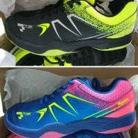Sepatu Badminton Bulutangkis Flypower Plaosan 5 Royal Blue Hot Pink