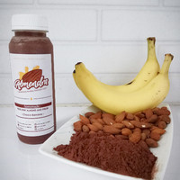 Almendra Raw Almond Milk / Susu Almond - Choco Banana