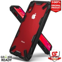 Case iPhone XR Rearth Ringke Fusion X iPhone XR ORIGINAL - Black
