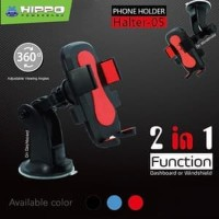 Hippo Halter 05 Universal Mount Car Holder Mobil - Merah