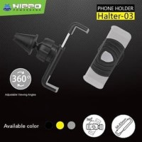 Hippo Halter 03 Universal Mount Car Holder Mobil - Grey