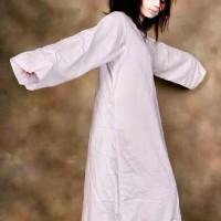 kostum baju kuntilanak jubah putih kunti halloween