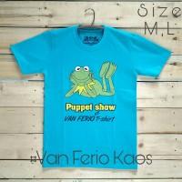 Kaos t-shirt oblong pria cowok unisex wanita fashion - The Puppet Show
