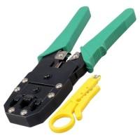 Crimping Tool Triple (RJ-45 + RJ-11 + Cutter)