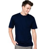 Kaos pria polos simple - t shirt unisex O neck