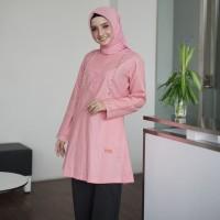 Baju Atasan Wanita Tunik Muslim Terbaru Blouse Busui Ori Nibras NA 27