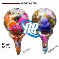 balon pentung TROLLS/ balon TROLLS/ balon karakter Trolls/ balon foil