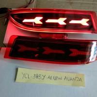 Lampu Led Reflektor All New Avanza Bamper Belakang All New Avanza