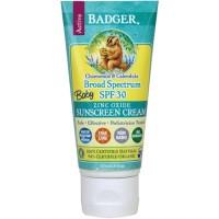 Badger Baby Sunscreen Cream Broad Spectrum SPF 30/ Sun Block/ Sunblock