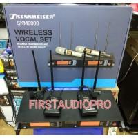 Mic Wireless Sennheiser SKM 9000 CLIP ON Multi Channel 4 ANTENA