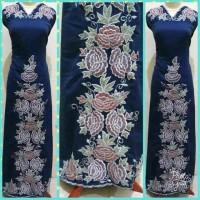 kain bordiran / kain bakal baju / Bordiran Bukittinggi / motif Bordir