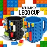 Gelas Mug Lego Cangkir Anak Mainan Unik Lucu Classic Klasik