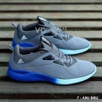 Sepatu Running Adidas Alphabounce Pria Olahraga Lari Jogging Grade Ori