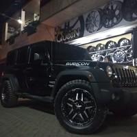 velg racing jeep rubicon rasta3 ring 20 plus ban mt ring 22 pacul
