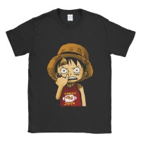 Baju Kaos Tshirt One Piece Luffy Kid