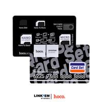 HOCO Card 4-in-1 SIM Card Adapter Kit (Nano / Micro / Standard + Eject