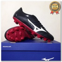 Produk 38 Sepatu Bola Mizuno Rebula V4 Black Tango Red P1GA187701 Orig