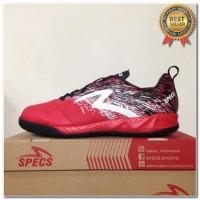 Produk 38 Sepatu Futsal Specs Metasala Warrior Premier Red Black 40077