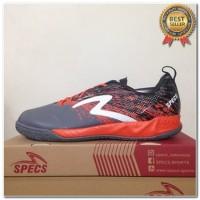 Produk 38 Sepatu Futsal Specs Metasala Warrior Dark Granite Orange 400