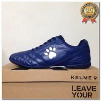 Produk 38 Sepatu Futsal Kelme Power Grip Navy Silver 1102107 Original