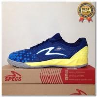 Produk 38 Sepatu Futsal Specs Metasala Knight Galaxy Blue Yellow 40073