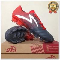 Produk 38 Sepatu Bola Specs Equinox FG Dark Granite Red 100821 Origina