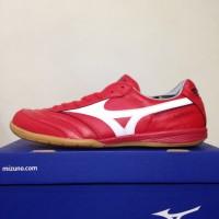 Sale Sepatu Futsal Mizuno Morelia IN High Risk Red Q1GA180062 Original
