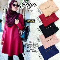 Baju Atasan Wanita Muslim Blouse Joya Tunik Hn